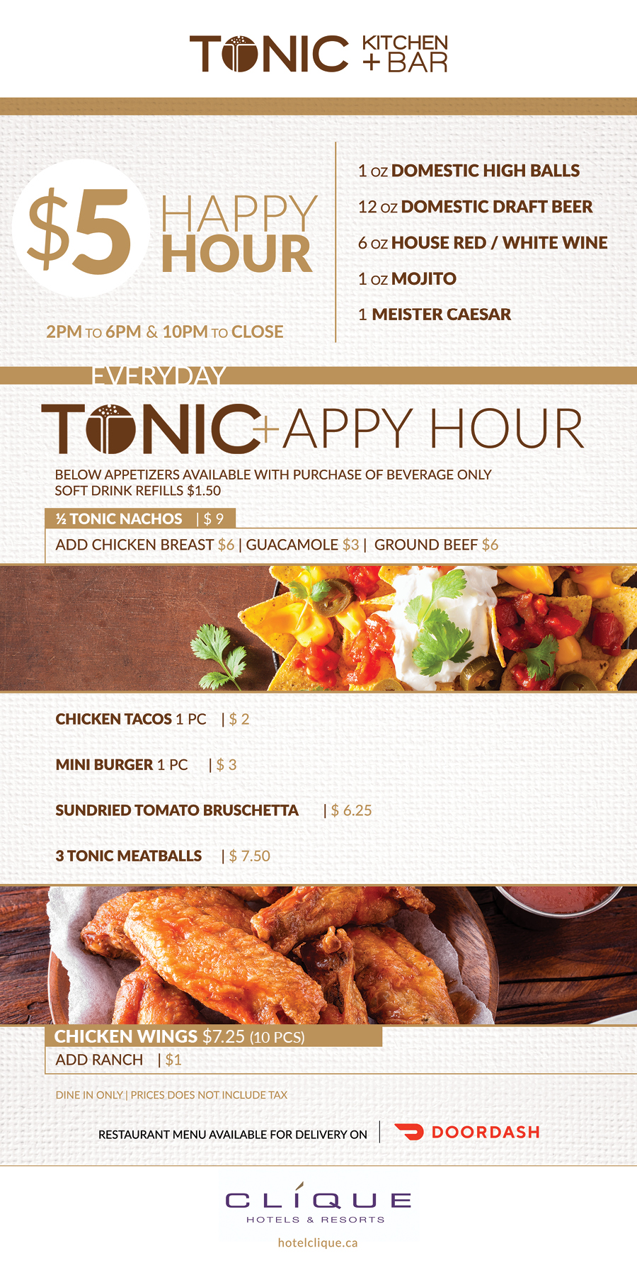 Tonic Appy Hours